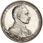 2 Mark - Wilhelm II (Reign - Pattern) – obverse