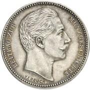 4 Mark - Wilhelm II. – obverse