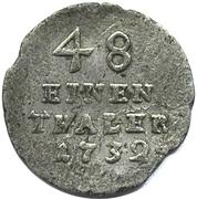 1/48 Thaler - Friedrich Wilhelm I – reverse