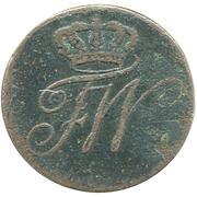 ½ Kreuzer - Friedrich Wilhelm III – obverse