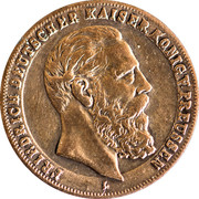 Token - Friedrich III (Preussen) – obverse