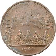 Token - Frédéic II (Siege of Prague) – reverse
