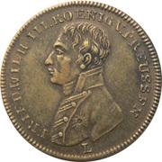 Token - Friedrich Wilhelm III (Peace and the Treaty of Paris; Prussia) – obverse