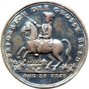 Medallion - Friderich der Grosse Held – obverse