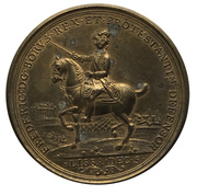 Medal - Friedrich II (Battle of Rosbach and Lissa; Prussia) – obverse