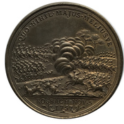 Medal - Friedrich II (Battle of Rosbach and Lissa; Prussia) – reverse