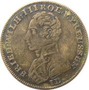 Token - Friedrich Wilhelm III (Neue Ehre Neues Glück) – obverse