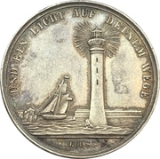 Presentation medal of religious confirmation Type 5 – obverse