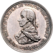 Medal - Friedrich Wilhelm III. Homage to Prussia upon Annexation of Paderborn – obverse