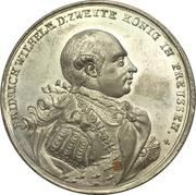 Medal - Start of reign of Friedrich Wilhelm II. (Prussia) – obverse