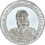 Medal - Victory over France (Prussia) – obverse