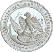 Medal - Victory over France (Prussia) – reverse