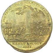 Medal - Battle of Hanau – reverse