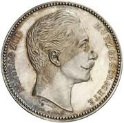 4 Mark - Wilhelm II (Pattern) – obverse