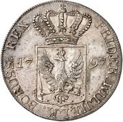1 Thaler - Friedrich Wilhelm II (Albertustaler) – obverse