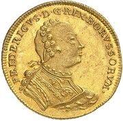 1 Ducat - Friedrich II – obverse