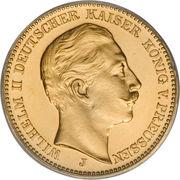 20 Mark - Wilhelm II -  obverse
