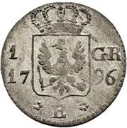 1 Groschen - Friedrich Wilhelm III. – reverse