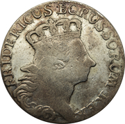 18 Gröscher - Friedrich II. – obverse