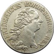 ⅓ Reichsthaler - Friedrich II. – obverse