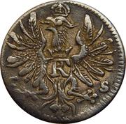 6 Pfennig - Friedrich I – obverse