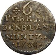 6 Pfennig - Friedrich I – reverse