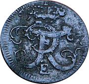 1 Schilling - Friedrich II. – obverse