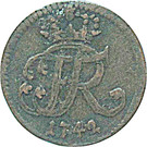 1 Guter Pfennig - Friedrich II – obverse