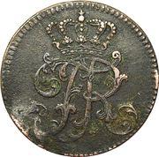 3 Pfennig - Friedrich II. – obverse