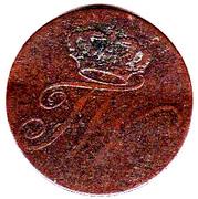 1 Pfennig - Friedrich Wilhelm II – obverse