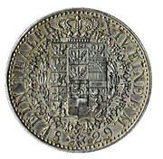 1 Thaler - Friedrich Wilhelm III – reverse