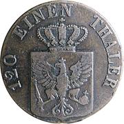 3 Pfennige - Friedrich Wilhelm IV -  obverse