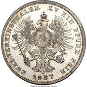 2 Vereinsthaler - Wilhelm I. – reverse