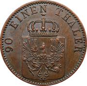 4 Pfenninge - Wilhelm I – obverse