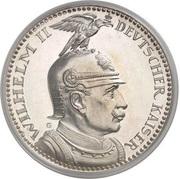5 Mark - Wilhelm II – obverse