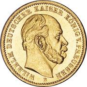 20 Mark - Wilhelm I – obverse