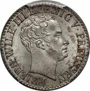 ½ Silber Groschen - Friedrich Wilhelm III -  obverse