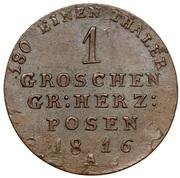 1 Groschen - Friedrich Wilhelm III – reverse