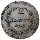 2 Złote (Siege of Zamość) – reverse