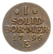 1 Solidus - Friedrich Wilhelm III – reverse