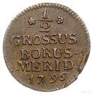 ½ Grossus - Friedrich Wilhelm III – reverse