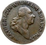 1 Grossus - Friedrich Wilhelm II – obverse