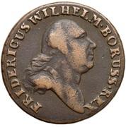 3 Grossus - Friedrich Wilhelm II (type 2 legend) – obverse