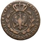 3 Grossus - Friedrich Wilhelm II (type 2 legend) – reverse