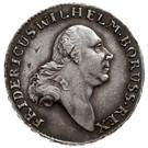 3 Grossus - Friedrich Wilhelm II (type 2 legend Ag) – obverse