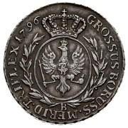 3 Grossus - Friedrich Wilhelm II (type 2 legend Ag) – reverse