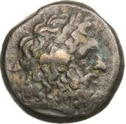 Dichalkon - Ptolemaios II Philadelphos – obverse