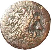 Diobol - Ptolemy II Philadelphos (Alexandreia mint) – obverse