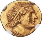 Stater - Ptolemy I Soter as King – obverse