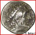 Tetradrachm - Ptolemaios II – obverse